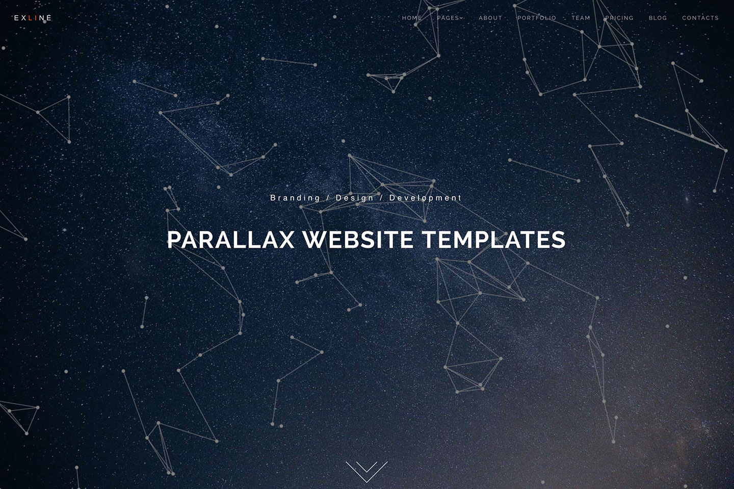 html5 css3 parallax website templates with smooth scrolling 2016