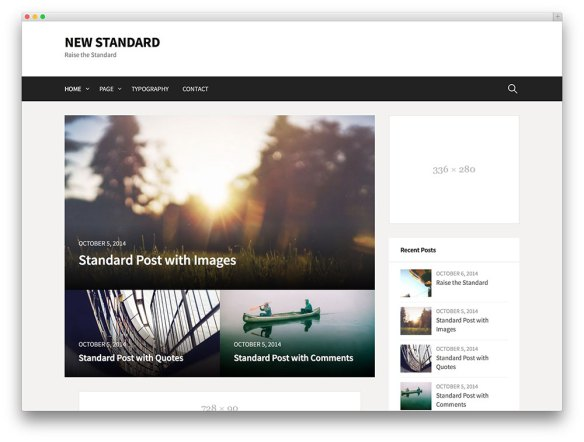 new standard -Premium WordPress Templates