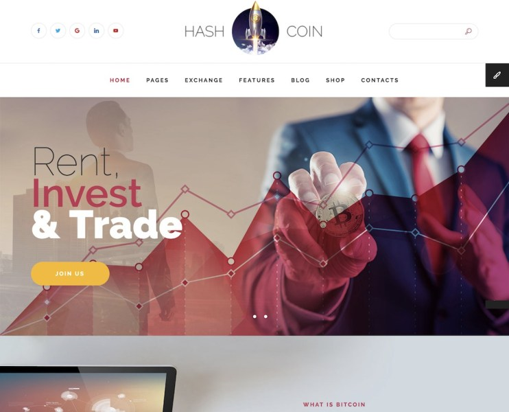 27 Best Responsive Cryptocurrency Website Templates 2018   Colorlib 27 Best Responsive Cryptocurrency Website Templates 2018