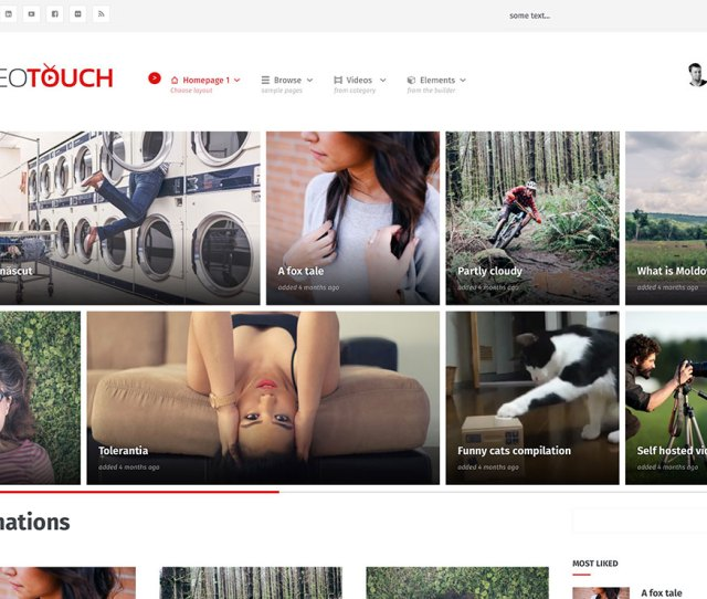 Stunning WordPress Video Themes For Embedded And Self Hosted Videos
