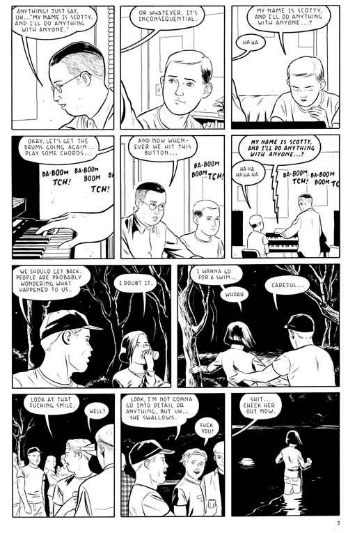 Optic Nerve 8 Page 3 by Adrian Tomine Comic Art