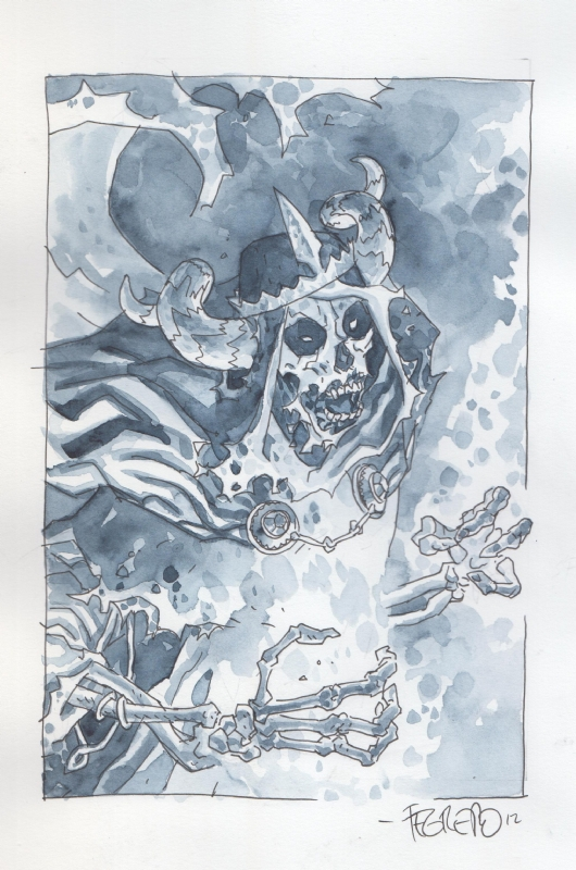 The Lich King (Adventure Time) by Duncan Fegredo Comic Art