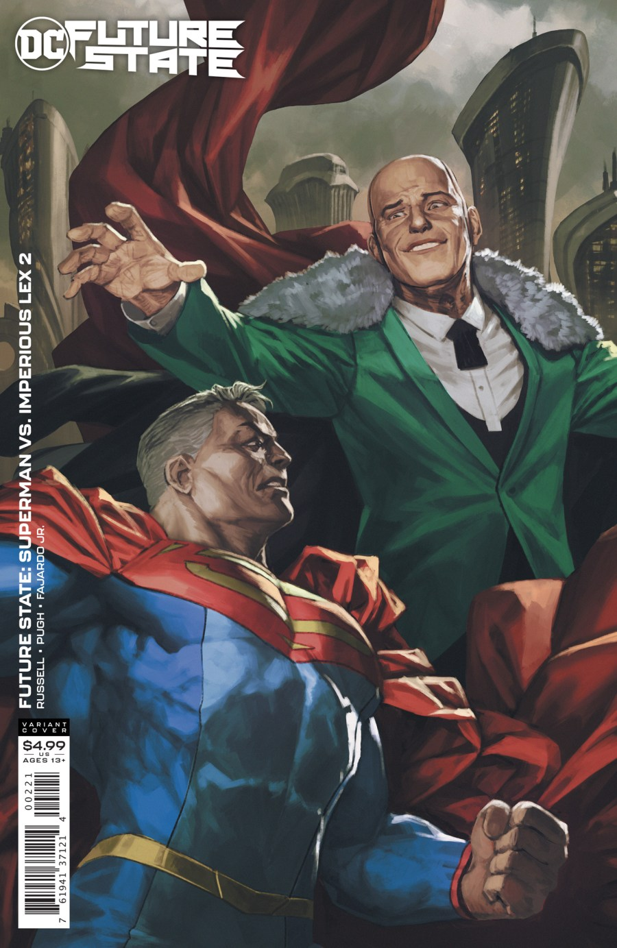 Future State: Superman Vs Imperious Lex #2 | The Aspiring Kryptonian