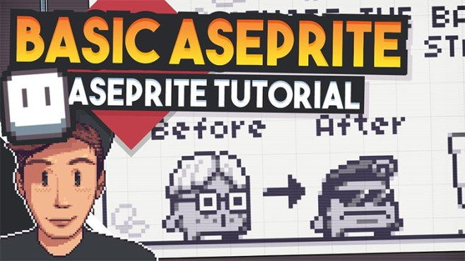 Best Free Aseprite Tutorials For Game Designers & Pixel Artists