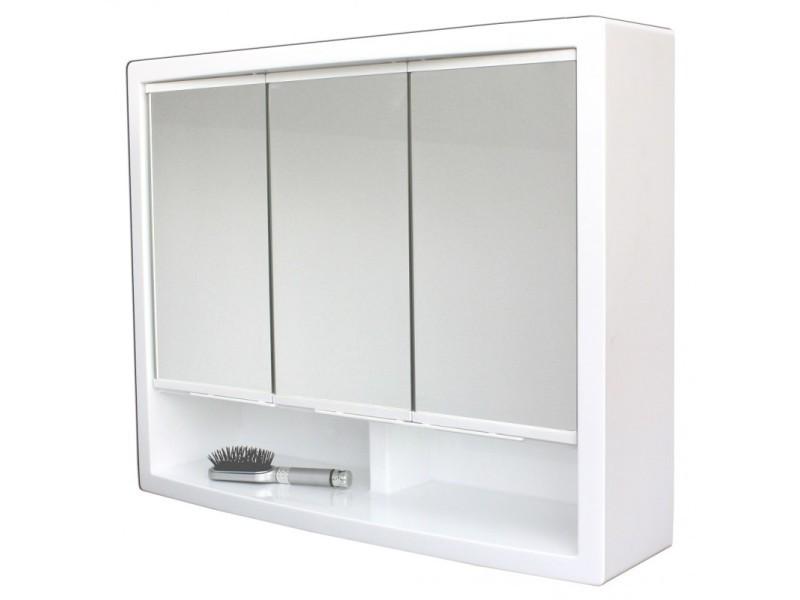 Armoire De Toilette Modele Le Discret 51cm X 62 Cm Hxl Vente De Pradel Premium Conforama