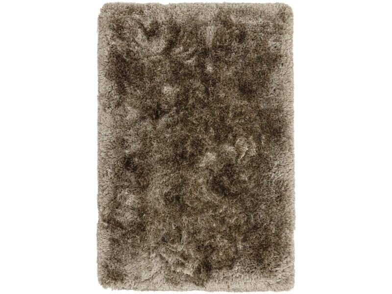 tapis shaggy tufte main confort splash 150x150 cm