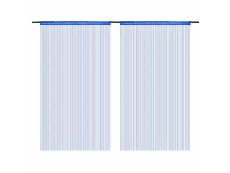 rideau fil bleu