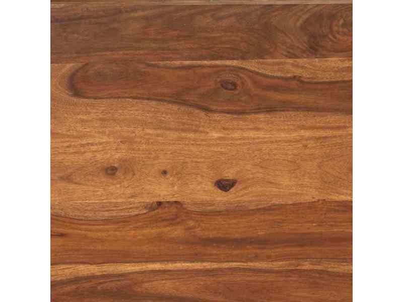 vidaxl table basse bois massif de sesham 90 x 60 x 30 cm