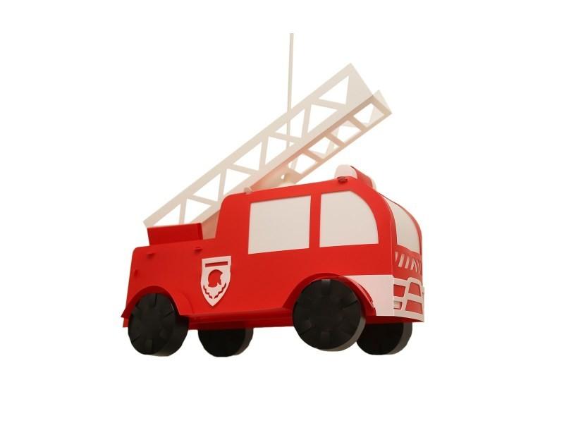 Lampe Suspension Chambre D Enfant Camion Pompier Made In France Vente De R Et M Coudert Conforama