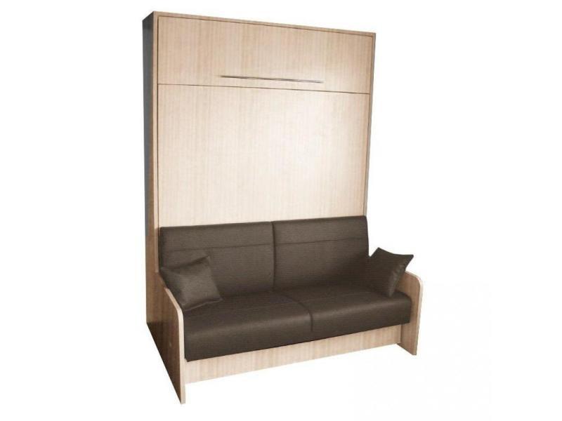 Armoire Lit Escamotable Space Sofa Chne Canap Intgr