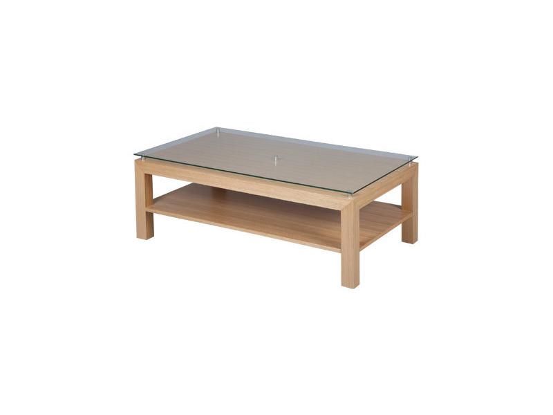 table plateau verre trempe