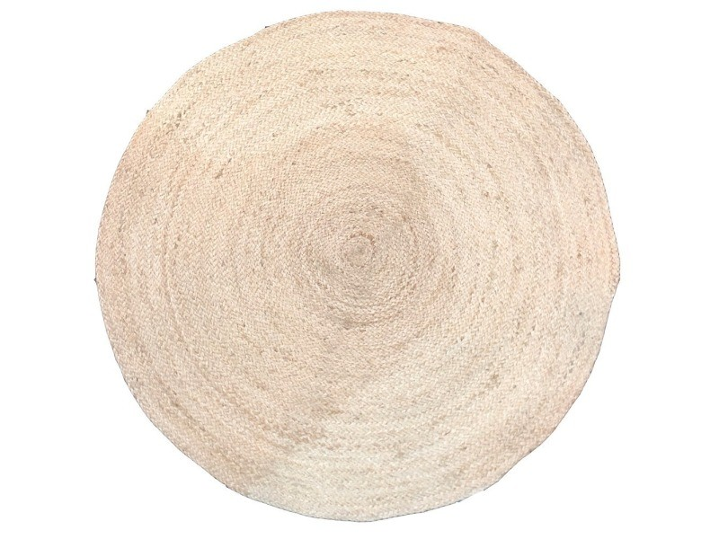 tapis rond en jute naturelle 90 cm