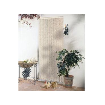 rideau de porte chenille florence beige 120 x 220 cm m32690418