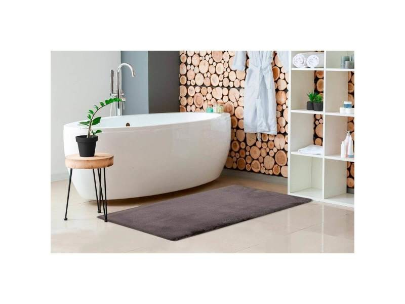 tapis bain antiderapant gris