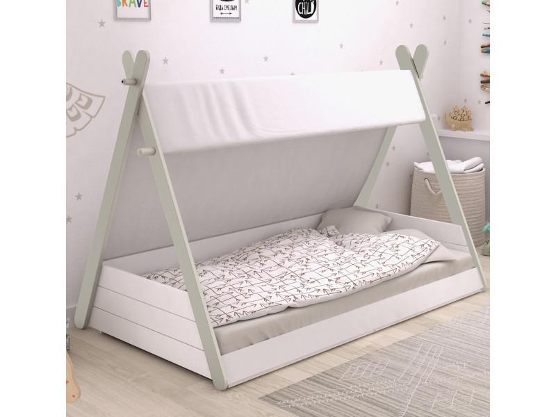 lit enfant tipi 90x200 terre de nuit