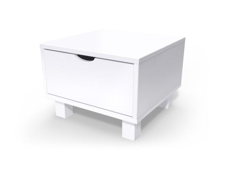 meuble tiroirs blanc