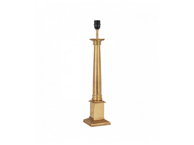 Base De Lampe De Table Nelson 63cm Laiton Sans Abat Jour Vente De Luminaire Center Conforama