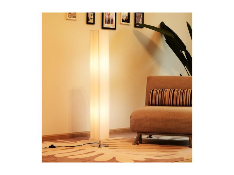 Lampadaire Colonne Selfi Blanc Vente De Lampe Conforama