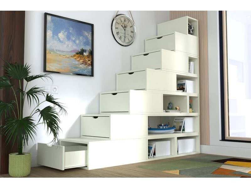 cube de rangement en escalier venus