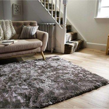 tapis a poils longs doux et confortable