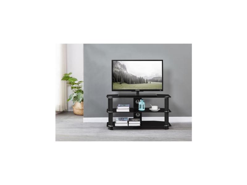 meuble tv verre trempe
