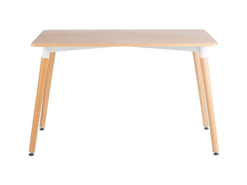 homemania tableau diamond pour la salle a manger la cuisine le salon bois clair blanc en mdf pvc beechwood 120 x 80 x 74 5 cm