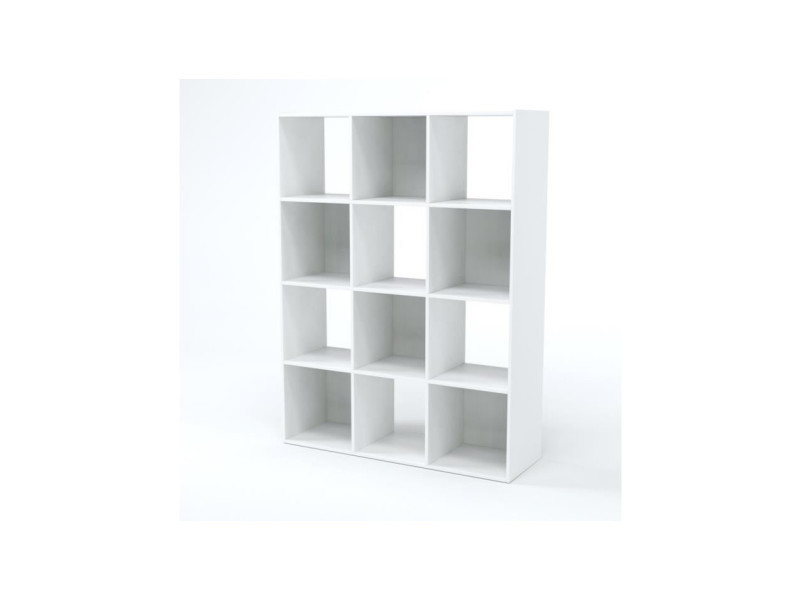 Compo Cube 12 Cases Blanc Vente De Finlandek Conforama