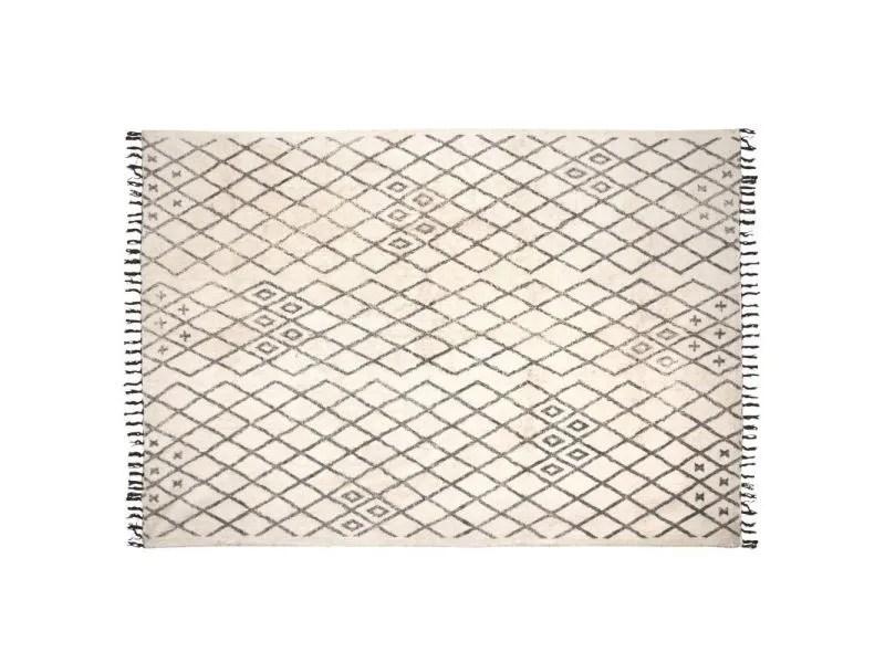 tapis berbere en coton masuna 200 x 300 cm