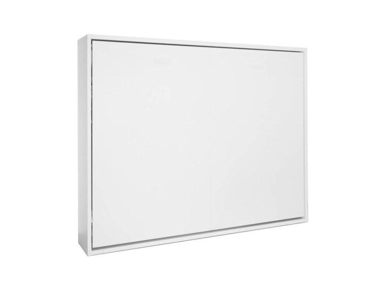 armoire lit horizontale escamotable strada v2 mat couchage 160 200cm 20100862571 vente de armoire conforama