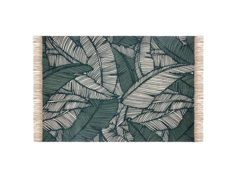 https www conforama fr decoration textile tapis paillasson tapis coton 120 x 170 cm jungle vert atmosphera p j28154390