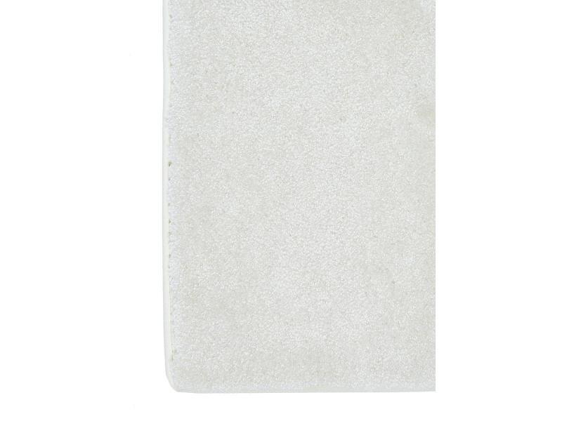 tapis design et moderne 200x300 cm rectangulaire luminozalong blanc salle a manger adapte au chauffage par le sol