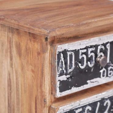 table de chevet 30 x 30 x 51 cm bois