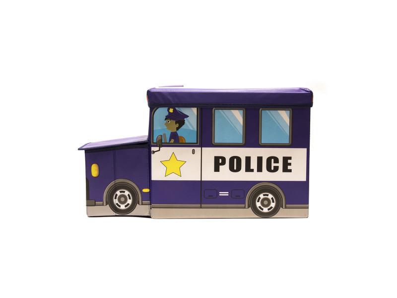 Coffre De Rangement Camion De Police Vente De Jeux 2 Momes Conforama