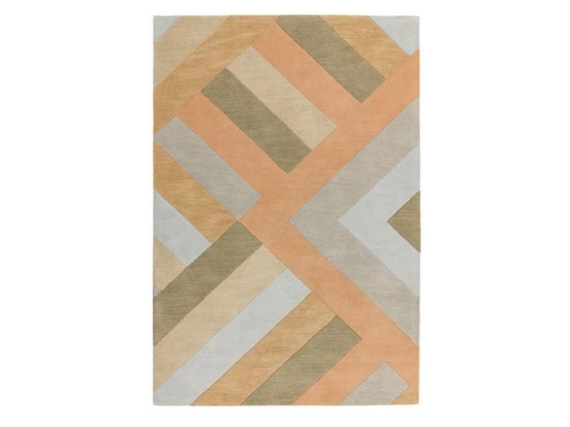 tapis pure laine tufte main zigo 120x170 cm