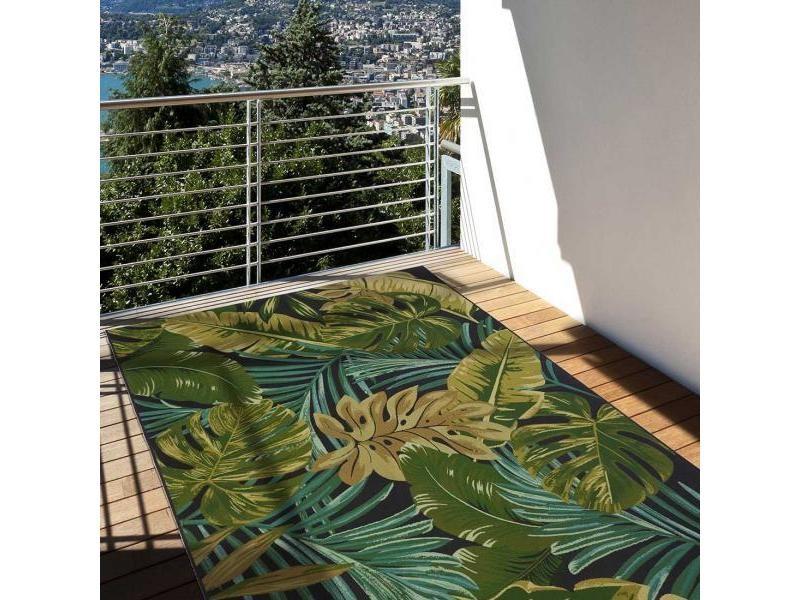 un amour de tapis jungle ex 123x180 cm tapis moderne tapis terrasse jardin tapis rectangulaire tapis vert