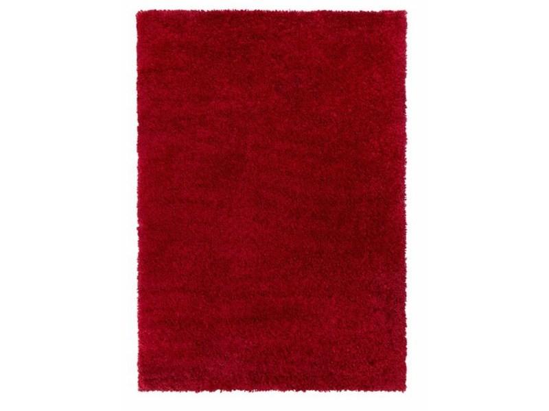 tapis de salon a poils longs shaggy stira 200x290 cm