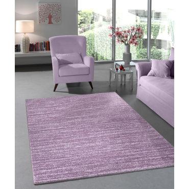 tapis pastel lisa violet 160x230