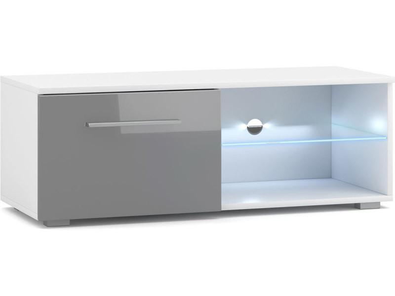 petit meuble tv moderne avec led 100