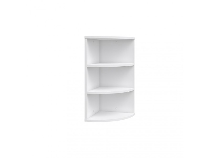 etagere d angle blanche 60 cm
