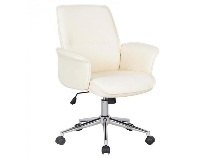 chaise de bureau jary blanche