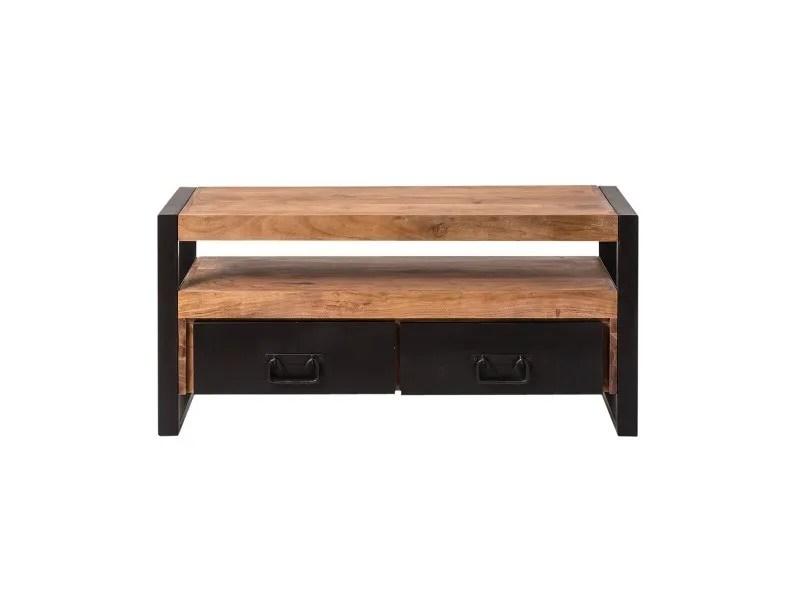meuble tv industriel