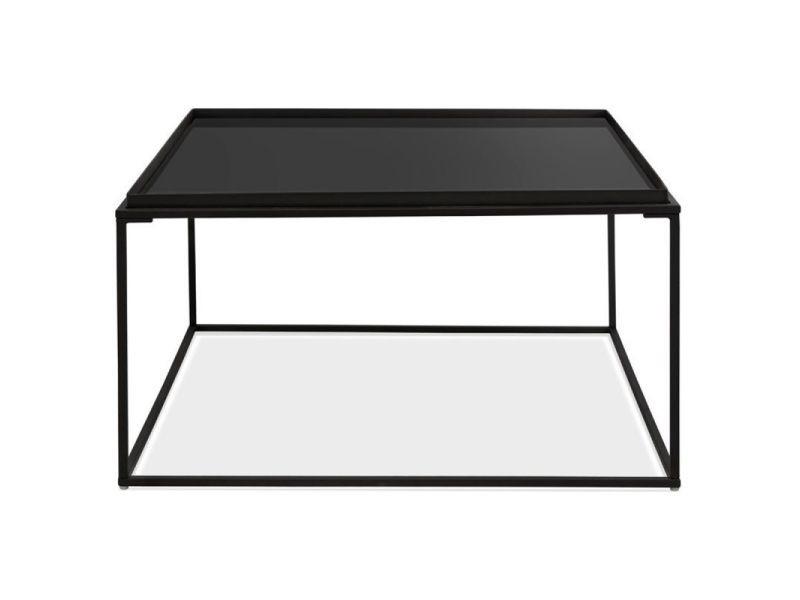 table basse design en verre kapo 80cm
