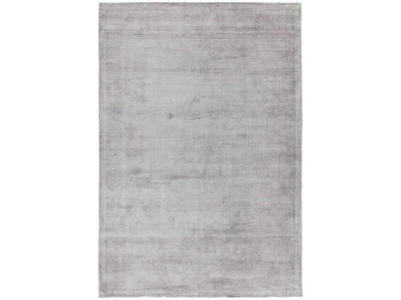 tapis viscose et coton tisse main oker 200x300 cm