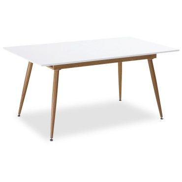 table extensible scandinave betty blanc