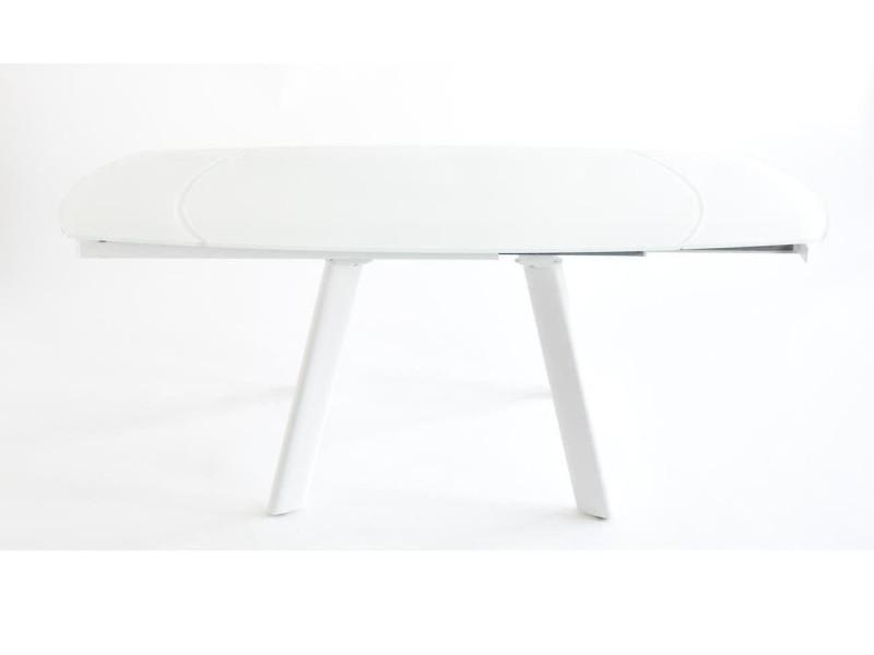 bobochic table 130 cm 8 personnes rallonge integree spid