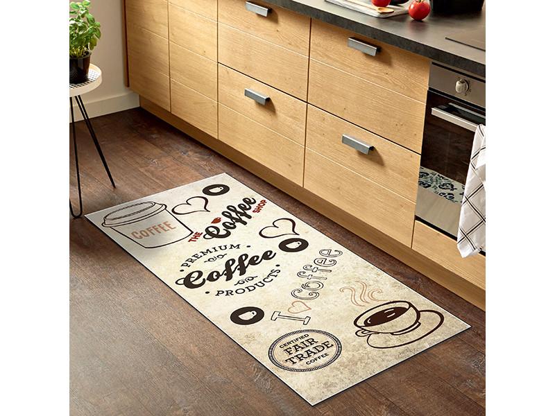 tapis de cuisine love coffee 45x75 cm