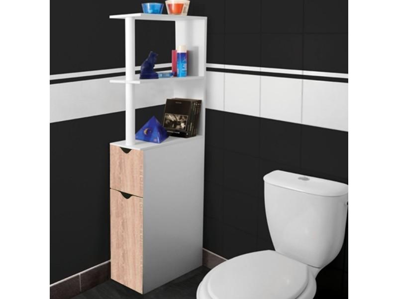 meuble etagere wc