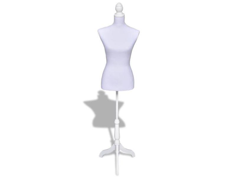 Joli Rangements Pour Armoires A Vetements Serie Islamabad Buste De Couture Mannequin Femme Blanc Vente De Sans Marque Conforama