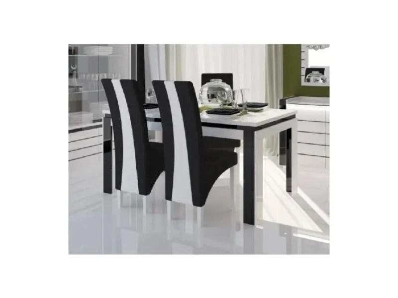tables noir laque