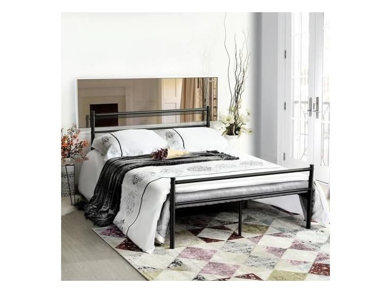 lit double adulte noir 140x190 cm lot de 2 chevet tiroir en scandinave tiroir de rangement blanc 44x18x90cm